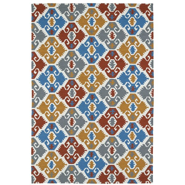 Cavour Handmade Multi Indoor/Outdoor Area Rug by Winston Porter