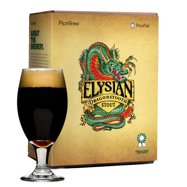 Elysian Dragonstooth Stout Brewing Mix (Set of 2) by PicoBrew