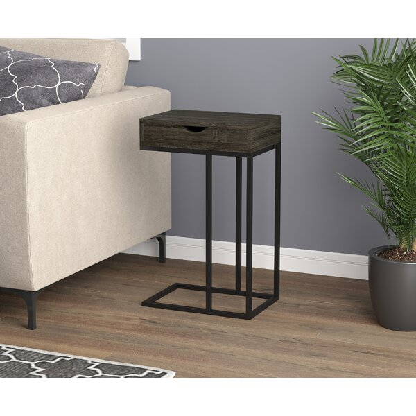 Dame End Table by Brayden Studio