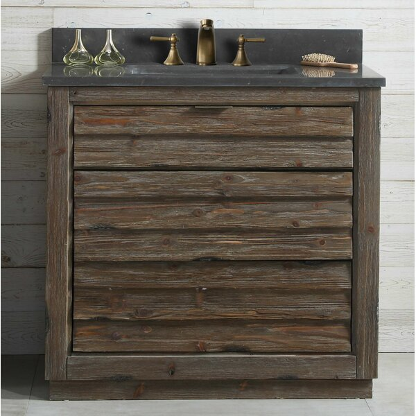 Ayla Wood 36'' Single Bathroom Vanity by Union Rustic