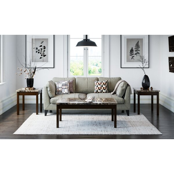 Earleen 3 Piece Coffee Table Set by Winston Porter Winston Porter