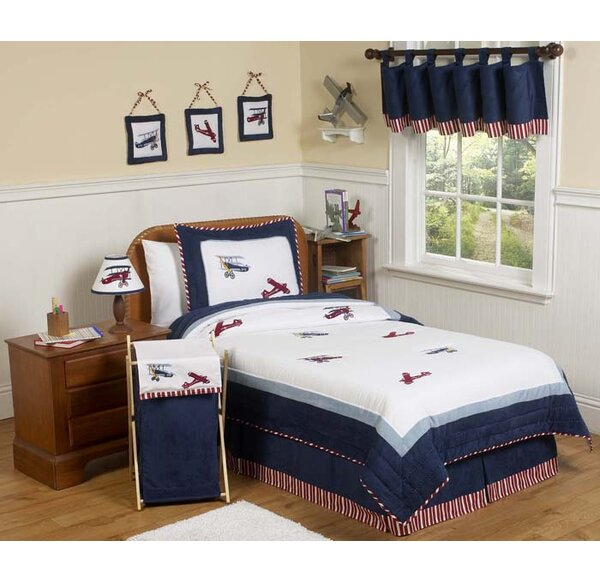 Vintage Aviator 3 Piece Comforter Set by Sweet Jojo Designs