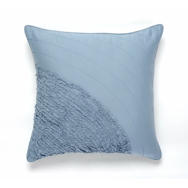 Water Cotton Pillow Cover by Darzzi