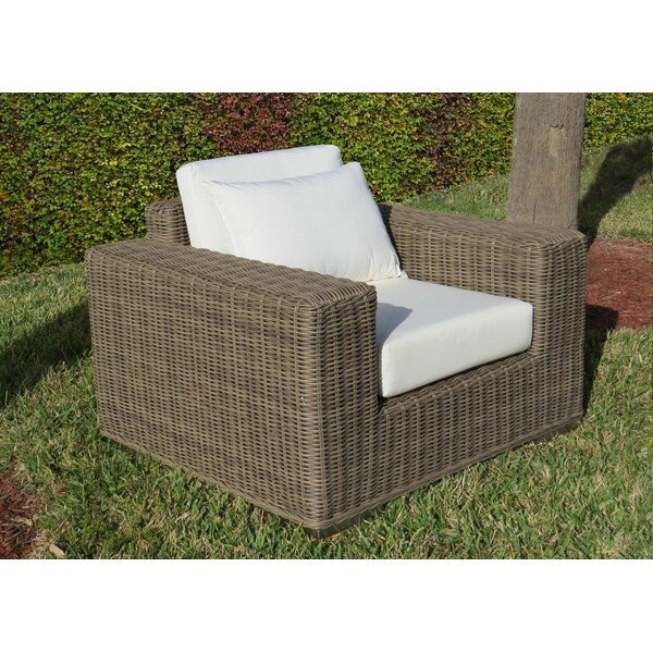 Mauzac Single Patio Chair with Cushion by Longshore Tides