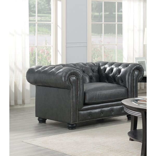 Brinson Chesterfield Chair By Three Posts
