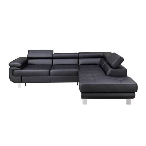 Review Brooksdale Right Hand Facing Sleeper Sectional
