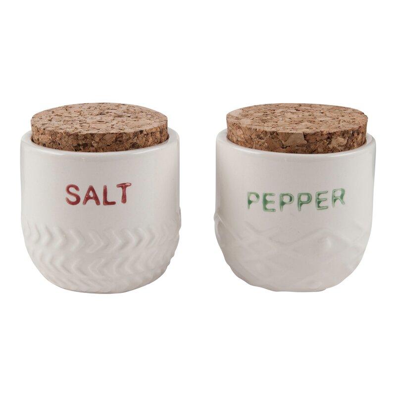 Floor 9 2 Piece Salt Pepper Set Reviews Wayfair