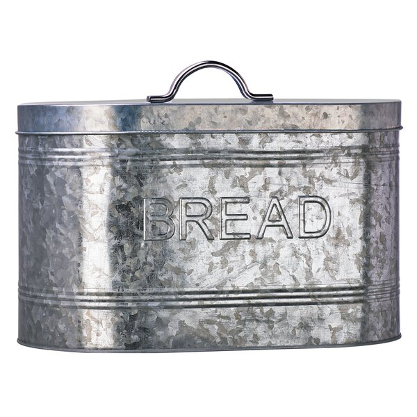 Amici Galvanized Bread Canister by Global Amici