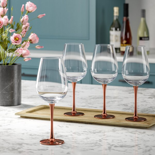 Gage Red Wine Glass (Set of 4) by Mint Pantry