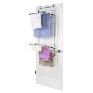 Hanging Over-the-Door Towel Rack