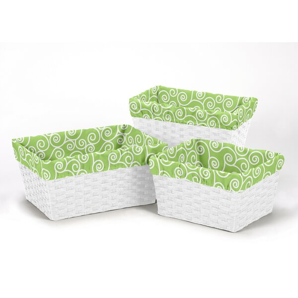 Olivia Basket Liners by Sweet Jojo Designs