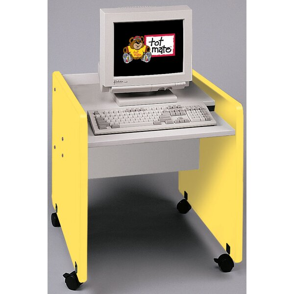 1000 Series Wood 27 Student Computer Desk by TotMate