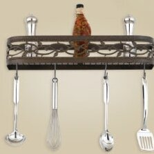 Napa Wall Mounted Pot Rack by Hi-Lite