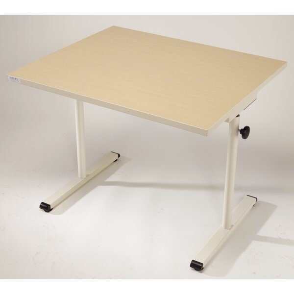 36'' W Height Adjustable Training Table by Populas