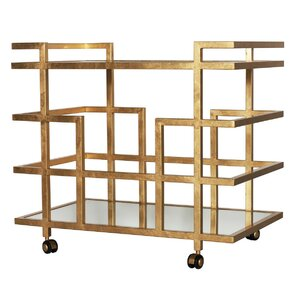 Linear Bar Cart by Worlds Away