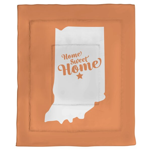 Home Sweet Indianapolis Single Reversible Comforter