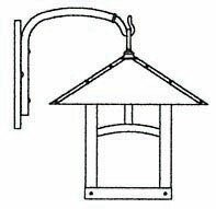 Shop For Evergreen 1-Light Outdoor Wall Lantern By Arroyo Craftsman