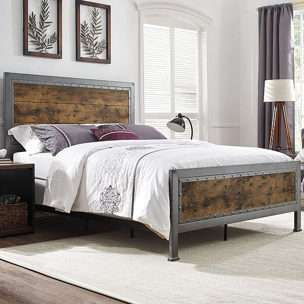 Berta Industrial Queen Bed by Laurel Foundry Modern Farmhouse