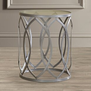 Top Kehl Metal End Table By Willa Arlo Interiors