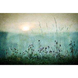 'Autumn sunrise' by Åsmund Kværnstrøm Graphic Art Print on Wrapped Canvas by My Art Outlet