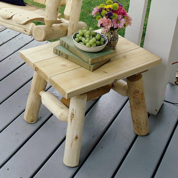 Almeida Solid Wood Side Table By Loon Peak