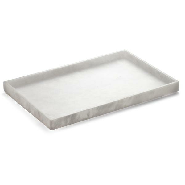 Snedeker Alabaster Countertop Bathroom Accessory Tray by Orren Ellis