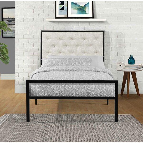 Hartin Upholstered Platform Bed by Alcott Hill