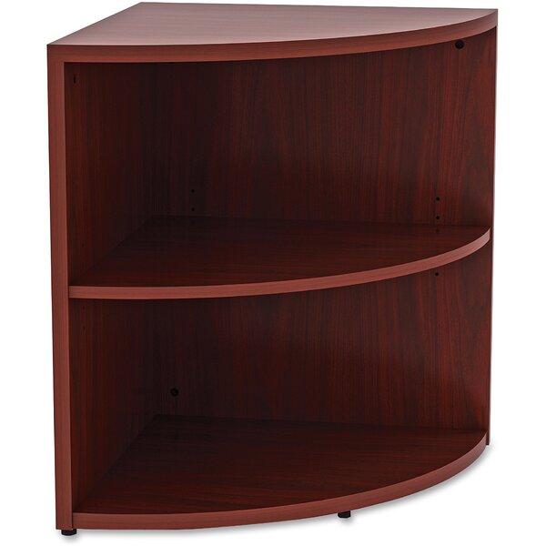 Essentials Corner Unit Bookcase by Lorell