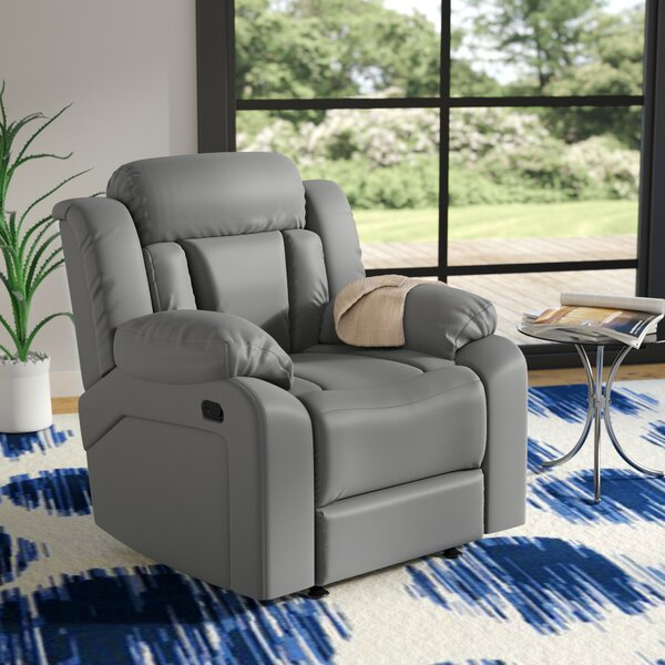 Pavonis Manual Rocker Recliner by Latitude Run