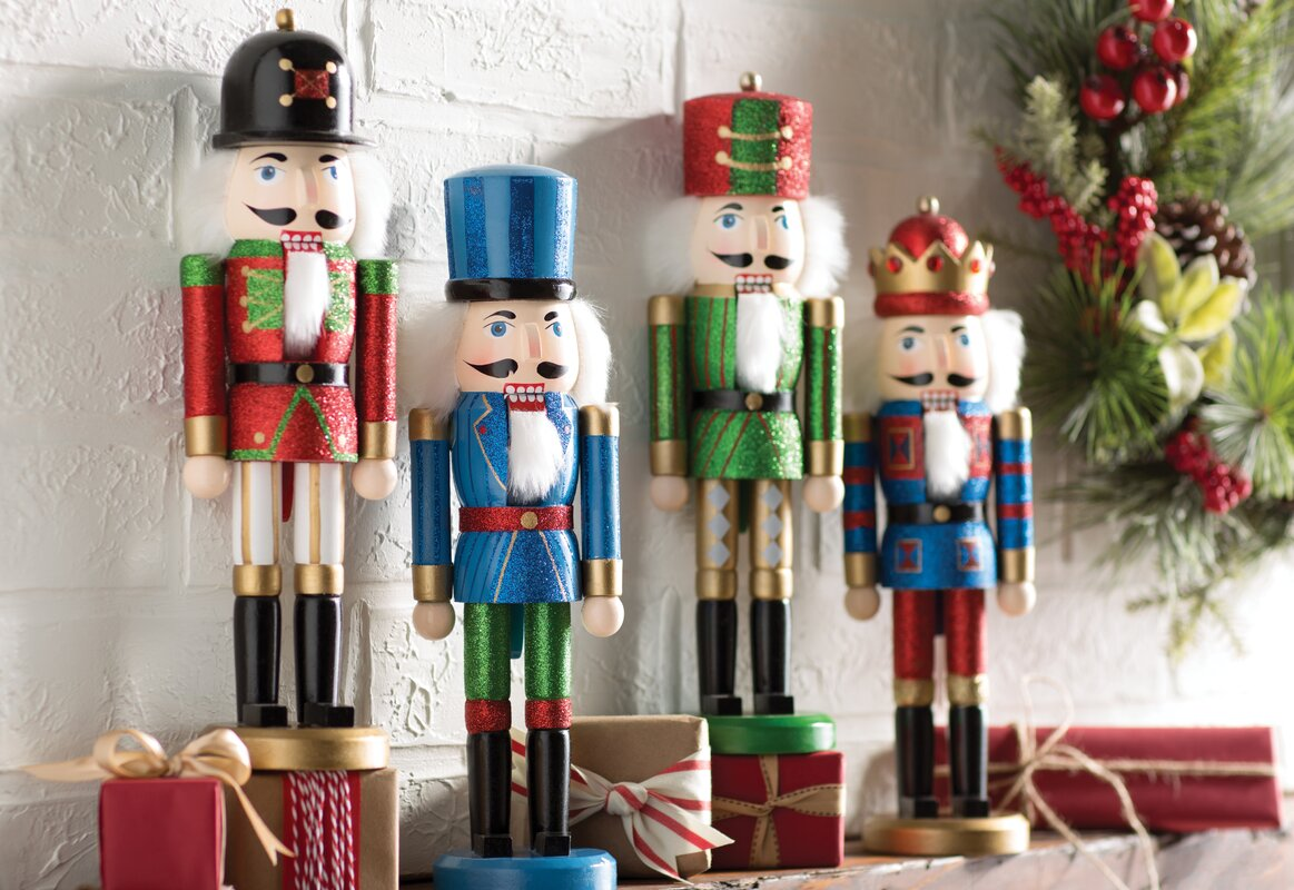 4 Piece Nutcracker Set