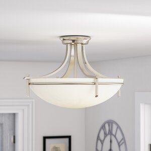 Ferrante Semi 3-Light  Flush Mount