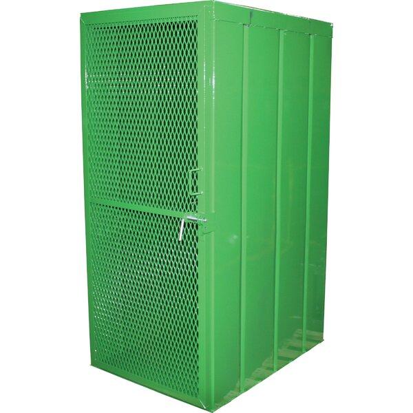 Cylinder 72 H One Shelf Shelving Unit by Saf-T-Cart