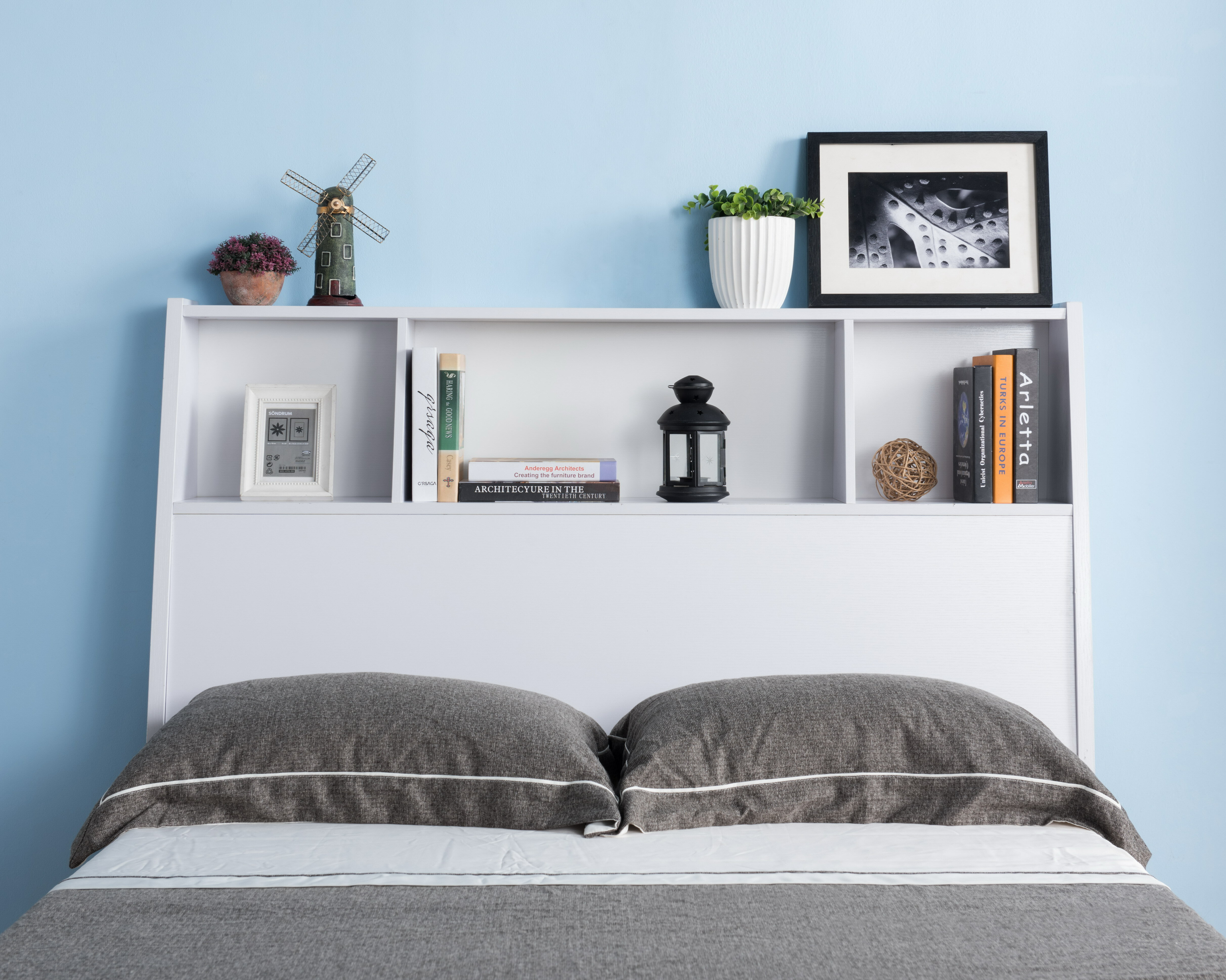 Latitude Run Jatoi Full Bookcase Headboard Wayfair