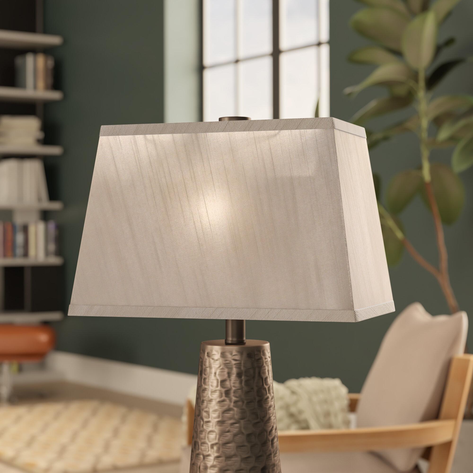 Brayden studio 14 fabric rectangular lamp shade reviews wayfair aloadofball Choice Image