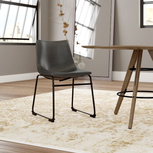 Modern Aurik Upholstered Dining Chair (Set Of 2) By Trent Austin Design Herry Up