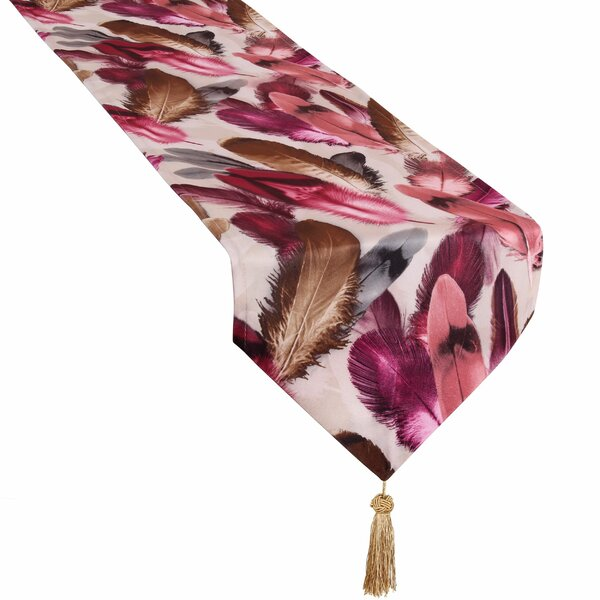 Lindsey Decorative Table Runner by World Menagerie