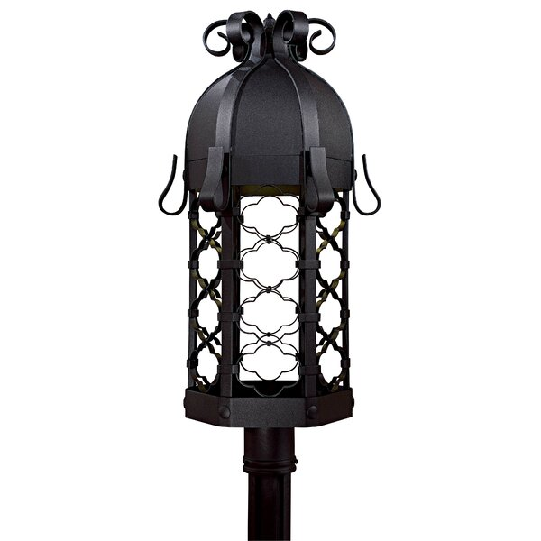 Outdoor 1-Light Lantern Head by Latitude Run