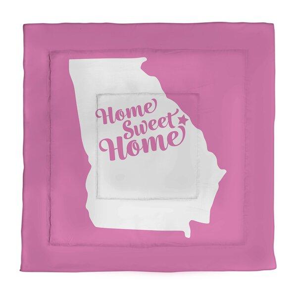 Augusta Home Sweet Single Reversible Comforter