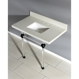 Purchase Templeton Stone Rectangular Undermount Bathroom Sink with Overflow By Kingston Brass