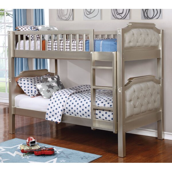 Elko Twin Over Twin Bunk Bed By Harriet Bee by Harriet Bee Amazing