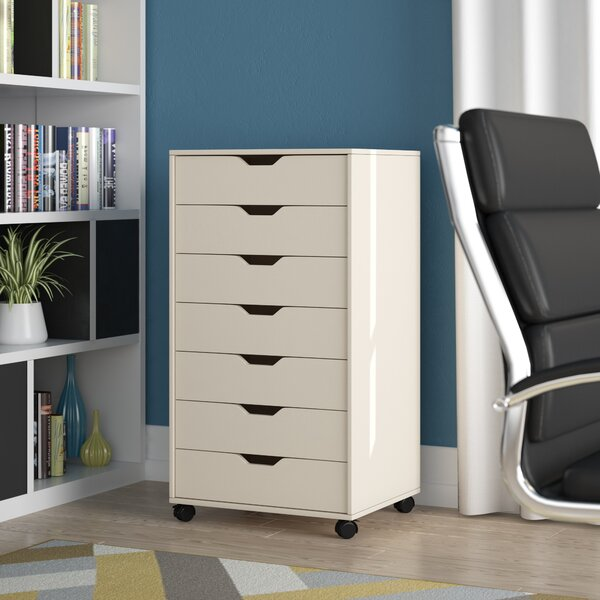 Riley 7 Vertical Filing Cabinet by Zipcode Design