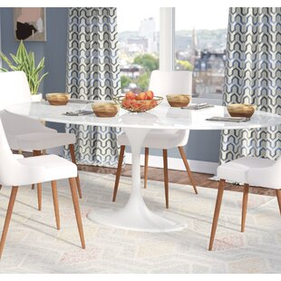 Faux White Marble Dining Table Wayfair - Wayfair white dining table