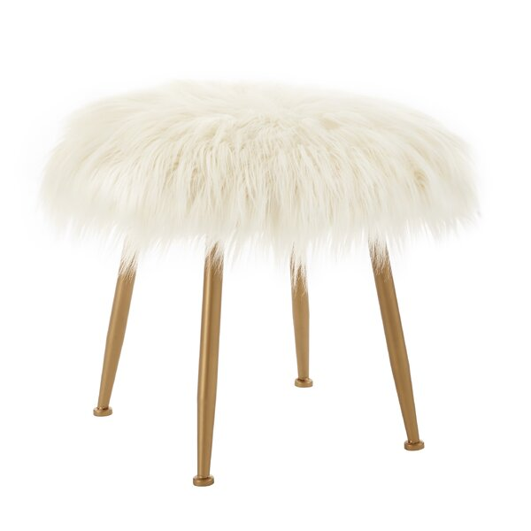 Hysley Accent Stool by House of Hampton