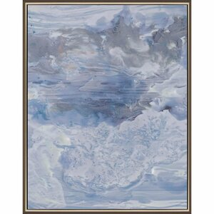 Ebb by Rodriquez Framed Painting Print by Paragon