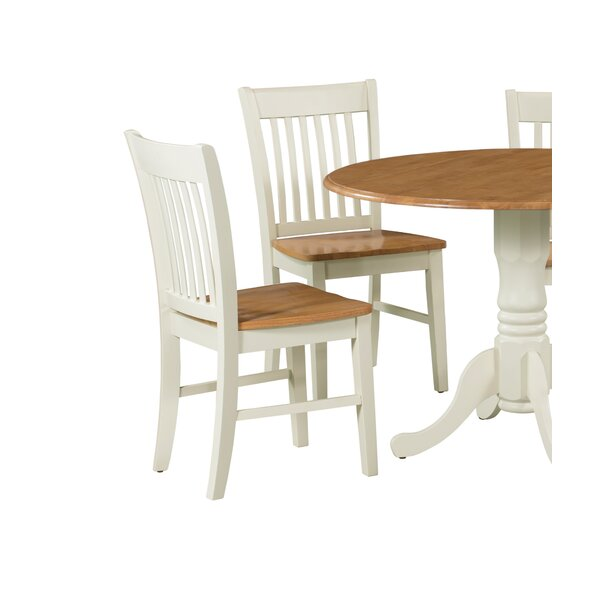 Shipe Solid Wood Dining Chair (Set of 2) by August Grove