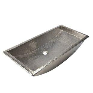 Reviews Trough Metal Rectangular Undermount Bathroom Sink ByNative Trails, Inc.