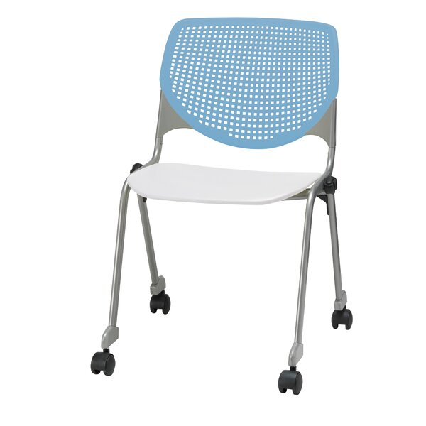 Lundell Armless Poly Stacking Chair by Latitude Run