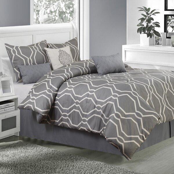 Dacian 7 Piece Comforter Set by Nanshing America, Inc