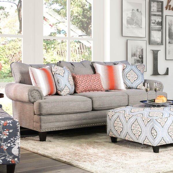 Kibby Fabric Sofa by Winston Porter