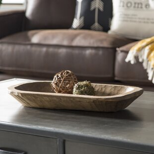 Old Wood Dough Bowl & Decorative Bowls Youu0027ll Love | Wayfair